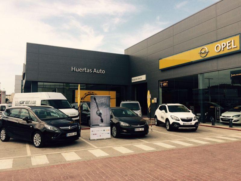 Huertas Auto, concesionario oficial Opel en Cartagena, vuelve a colaborar con La Mar de Músicas
