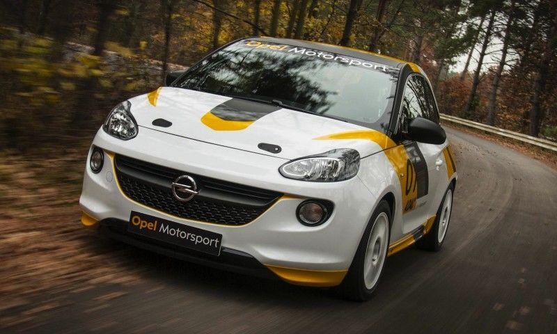 Opel vuelve al Campeonato de España de Rallyes