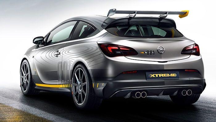El Opel Astra OPC Extreme podría llevarse a producción y llegar en 2015