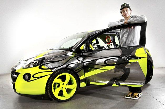 Opel Adam VRI46: una serie limitada con la firma de Valentino Rossi