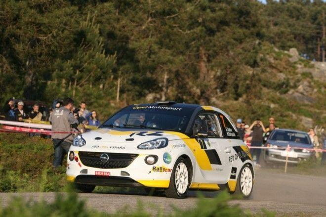 Vallín y Opel, líderes del Nacional de Rallyes