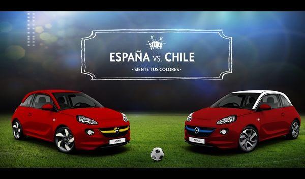 El Opel Adam se viste para el Mundial Leer más: El Opel Adam se viste para el Mundial - Autobild.es http://www.autobild.es/noticias/opel-adam-se-viste-para-mundial-225427#ZqW1SPbhXPj1ucao OpenBank: SIN GASTOS NI COMISIONES. Hazte cliente, SIMPLIFICA Tu