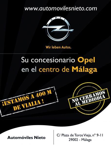¡Automóviles Nieto es tu concesionario en el Centro de Málaga!