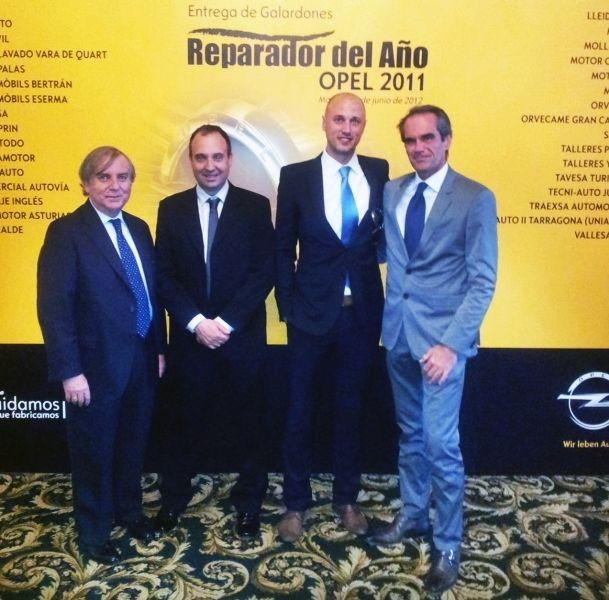 Argauto S.A. Nuevamente Reparador Opel del año