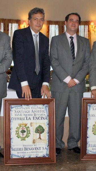 TALLERES BENAVENT GALARDONADA POR LA REVISTA LA ENCINA AÑO 2013