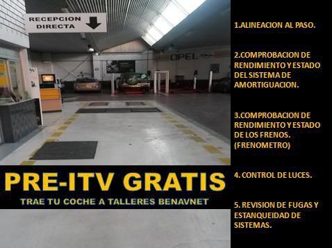 GESTIÓN DE ITV GRATUITA PARA TODAS LAS MARCAS.