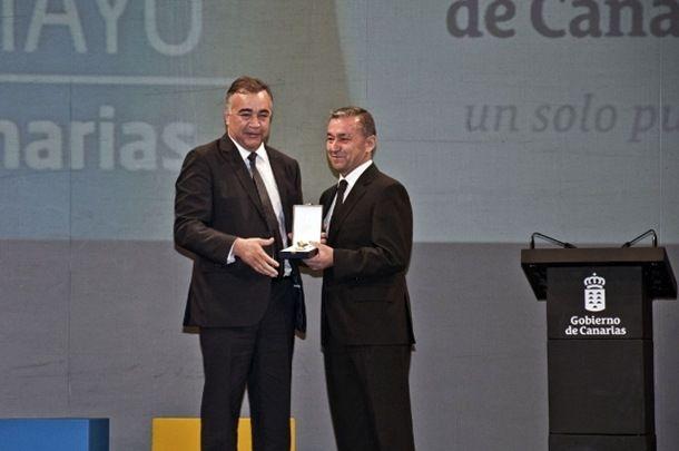 Medalla de Oro de Canarias 2014
