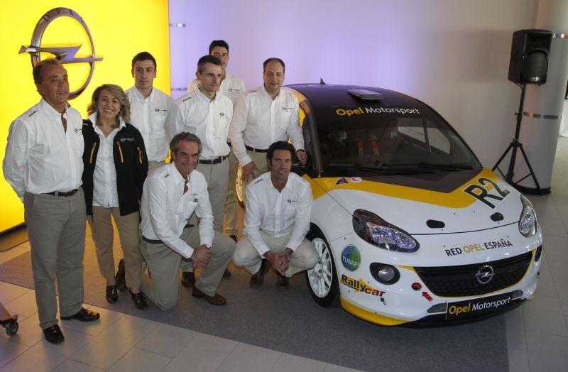 Presentación nacional del Opel ADAM R2 en Orvecame