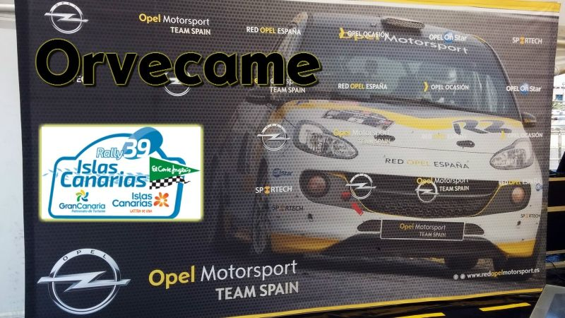 Motorsport Team Spain en el Rally Islas Canarias.