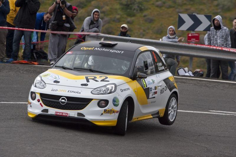 Gran Canaria, escenario de la Primera victoria del Opel ADAM R2 en España