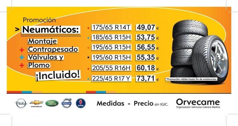 Promoción de Neumáticos