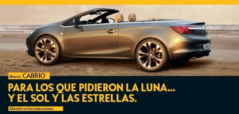 Descubre el Nuevo Opel CABRIO