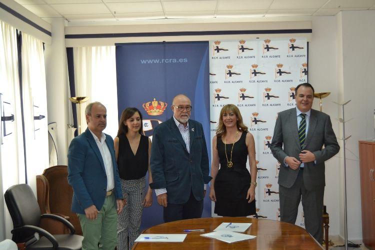 VOLVO ANKARA MOTOR Y EL REAL CLUB DE REGATAS FIRMAN EL ACUERDO PARA REPRESENTAR EL TROFEO TABARCA 2015