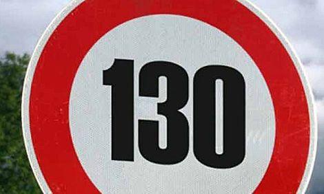EL LÍMITE DE VELOCIDAD DE 130 KM/H ENTRARÁ EN VIGOR EL PRÓXIMO AÑO