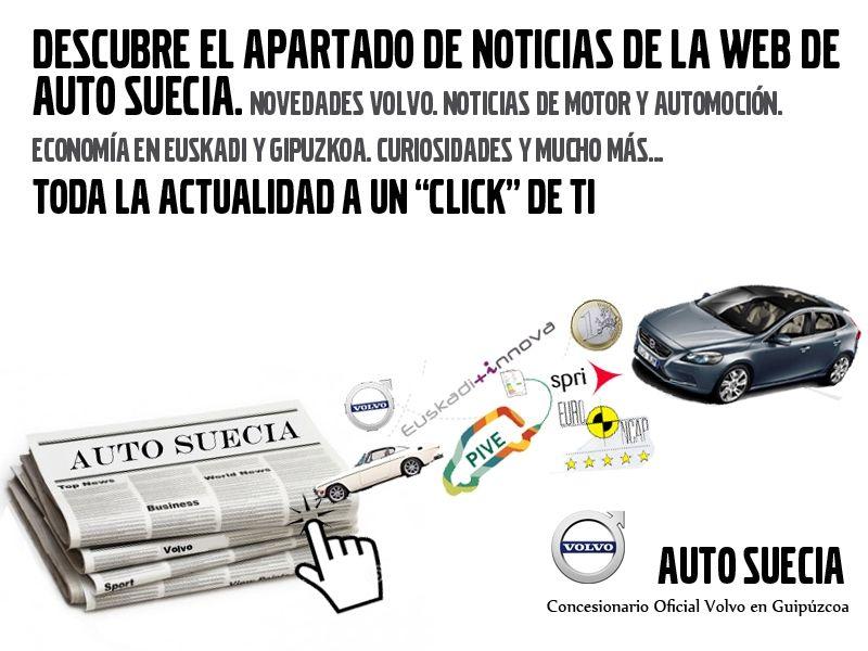 NOTICIAS, REPORTAJES Y CURIOSIDADES AUTO SUECIA