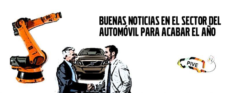 BUENAS NOTICIAS EN EL SECTOR DEL AUTOMÓVIL PARA TERMINAR EL AÑO