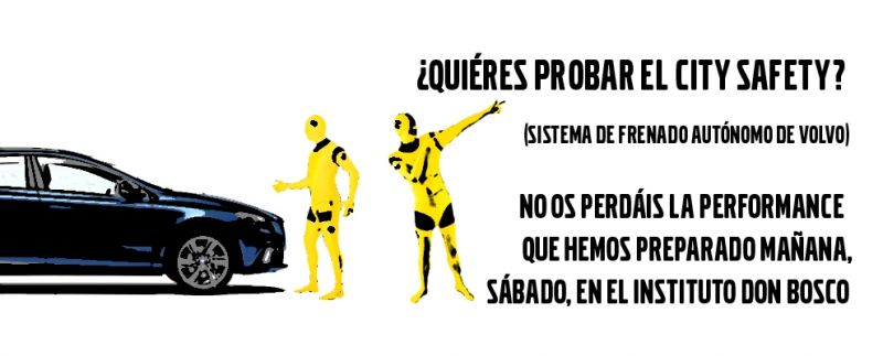 ¿QUIÉRES PROBAR EL SISTEMA CITY SAFETY?