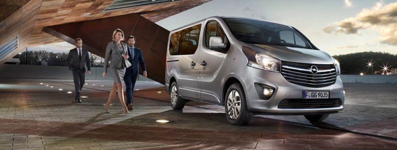 Ahora también puedes alquilar un Opel de 9 Plazas