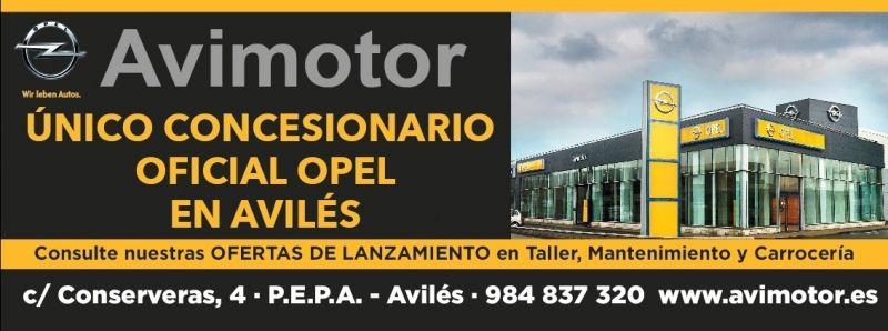 Avimotor unico concesionario OPEL el Aviles.