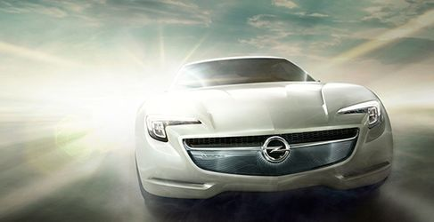 Opel GT Coupe Concept en el Salón de Ginebra
