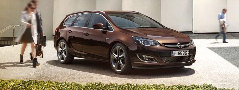 El Opel Astra Sports Tourer se presenta en Frankfurt