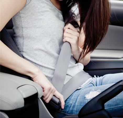 Asignatura pendiente: cinturón de seguridad