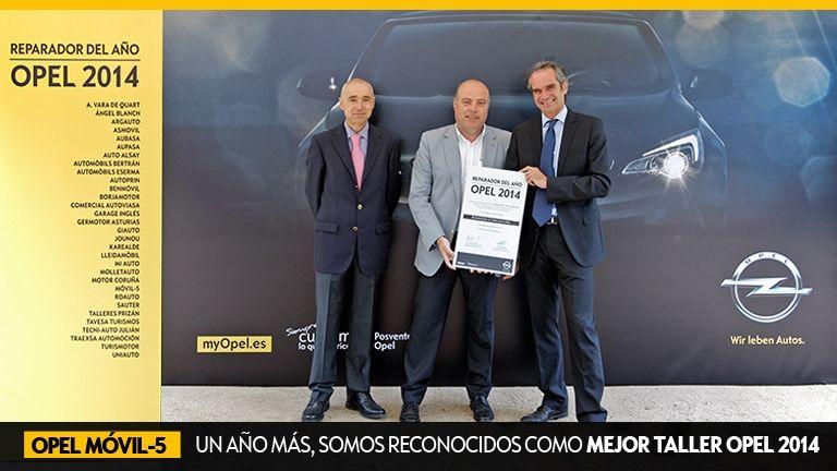 Móvil-5 vuelve a ser el TALLER REPARADOR 2014