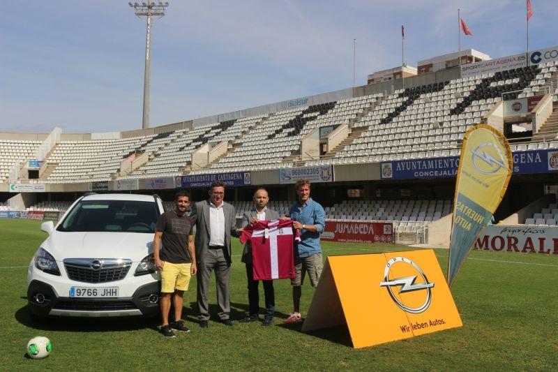 Huertas Auto, Opel Cartagena, se consolida como patrocinador del FC Cartagena