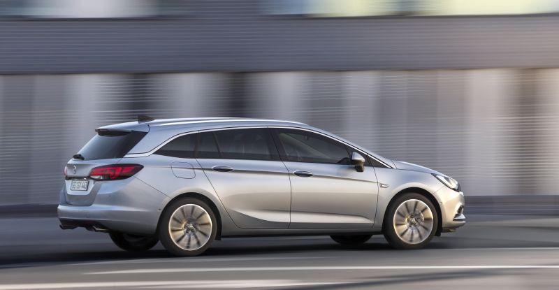 Nueva generación de Opel Astra ST