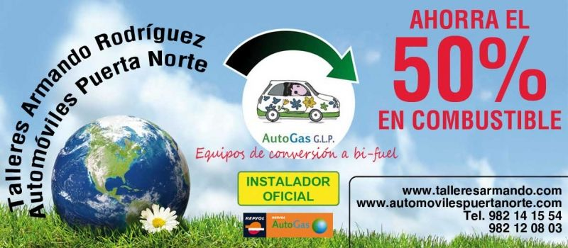 TRANSFORMA TU COCHE A GAS GLP