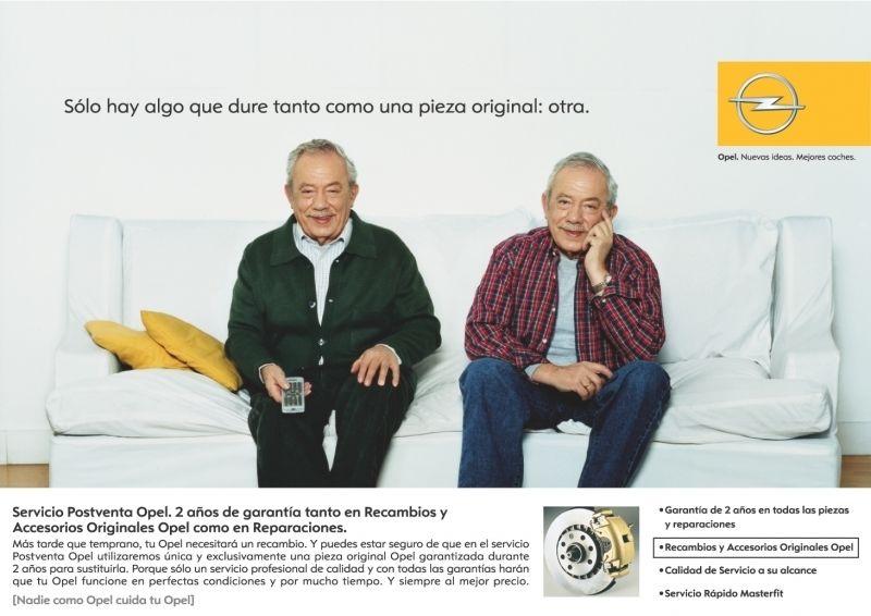 RECAMBIOS ORIGINALES OPEL.