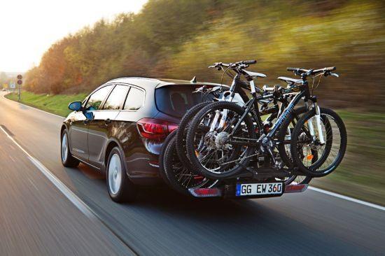 Nueve modelos Opel con FlexFix: comodidad y ahorro para llevar hasta cuatro bicicletas