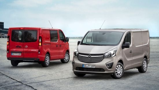 Birmingham Premiere Mundial dels nous Opel Vivaro i Movano