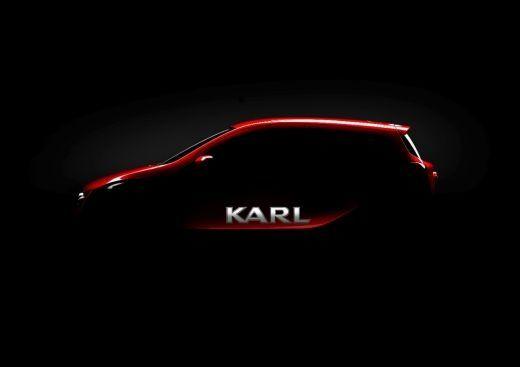Un nou cotxe petit amb un gran nom: Opel presenta el KARL