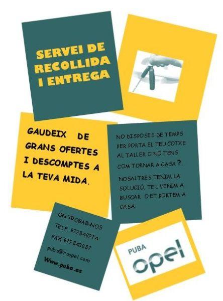 SERVEI DE RECOLLIDA I ENTREGA