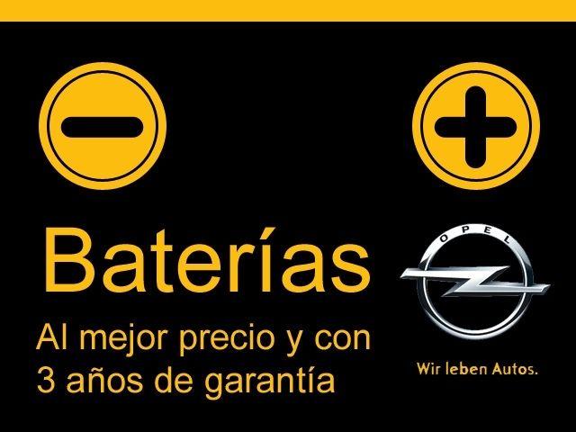 OFERTA DE BATERIAS