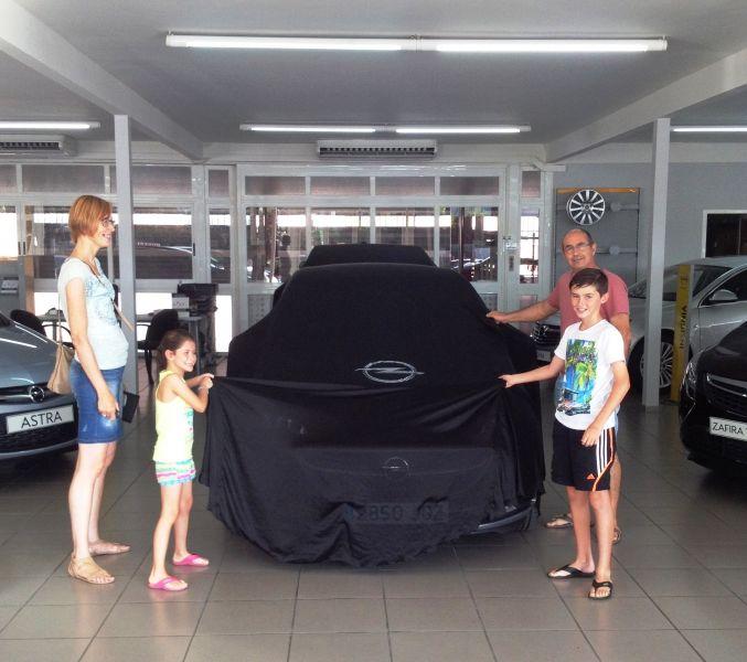 Otro amigo en la familia Opel, que repite.