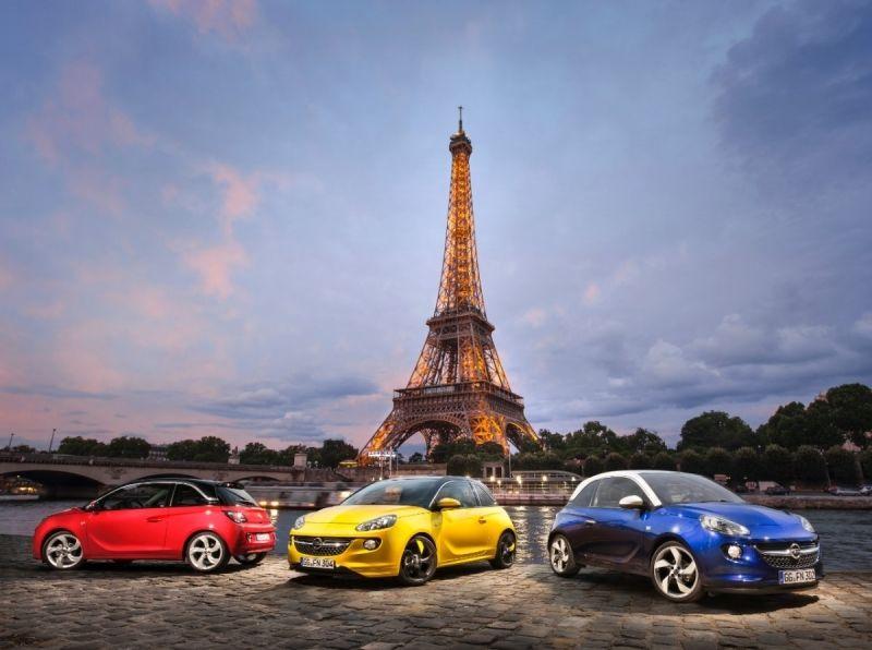 Premiere Mundial en París del Opel ADAM