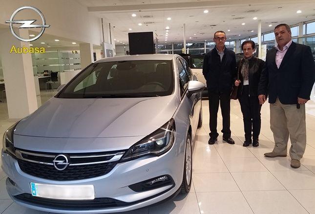 Aubasa empieza a entregar el nuevo Opel Astra