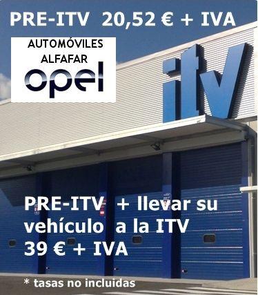 Pre-ITV + llevar tu vehículo a la ITV