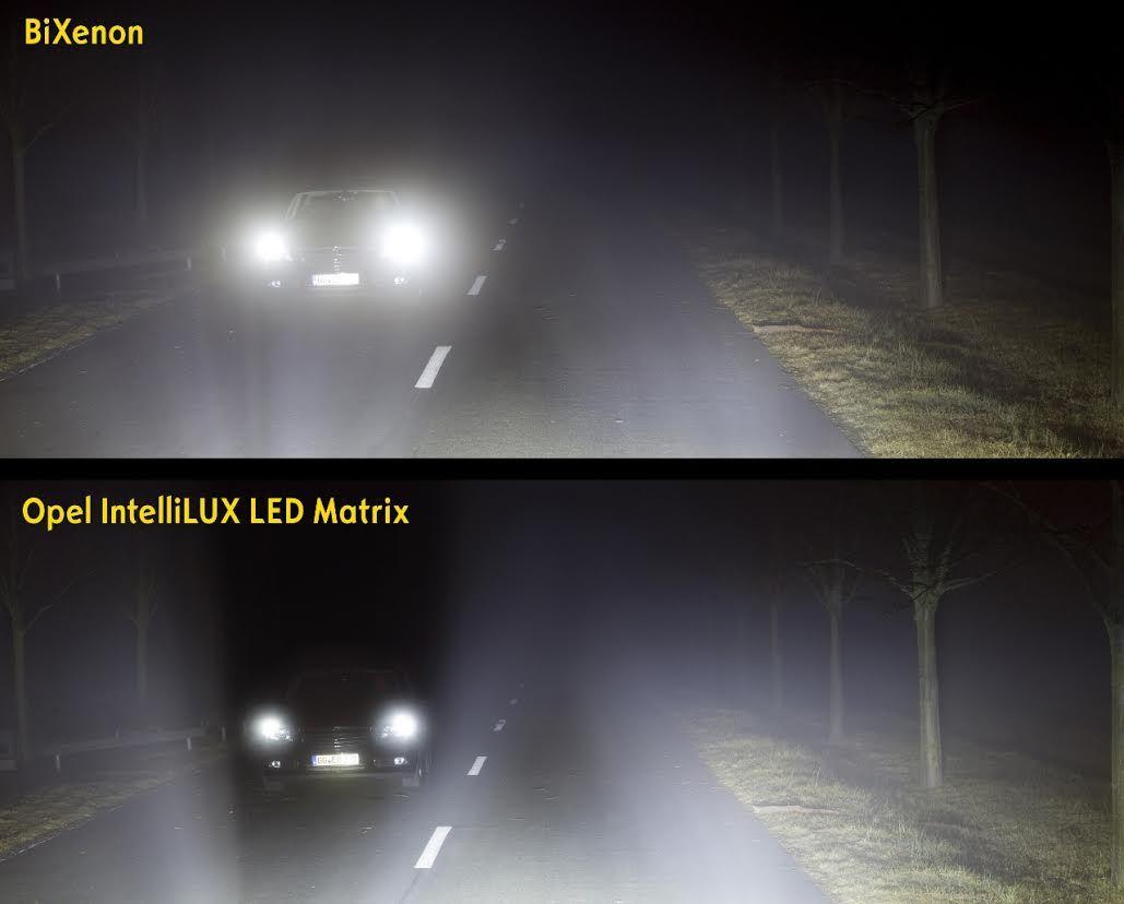 """El sistema IntelliLux LED® de Opel premio de seguridad """"SAFETYBEST 2015"""""""