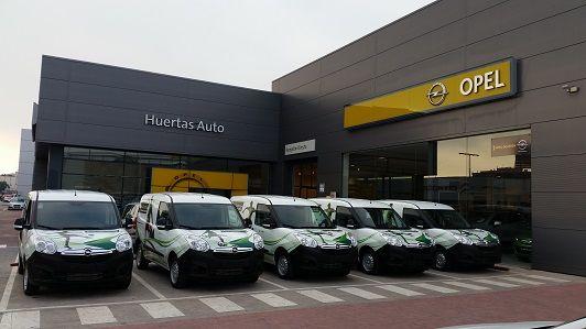 Huertas Auto completa la flota de vehículos de Grupo Orenes