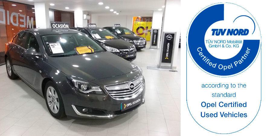 Certificado Opel Ocasión