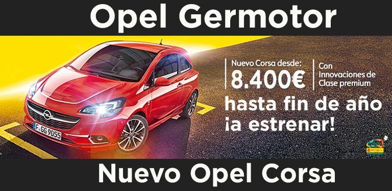Oferta especial Opel Corsa Germotor