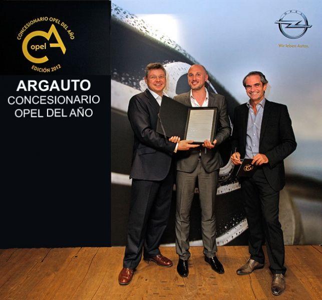 ARGAUTO, concesionario Opel más laureado con 38 distinciones.
