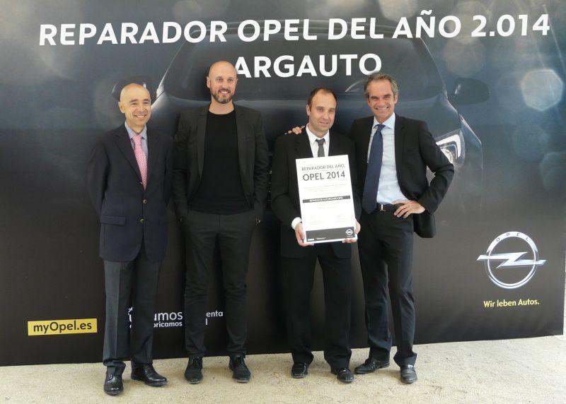 ARGAUTO, DE NUEVO CONCESIONARIO REPARADOR DEL AÑO 2014