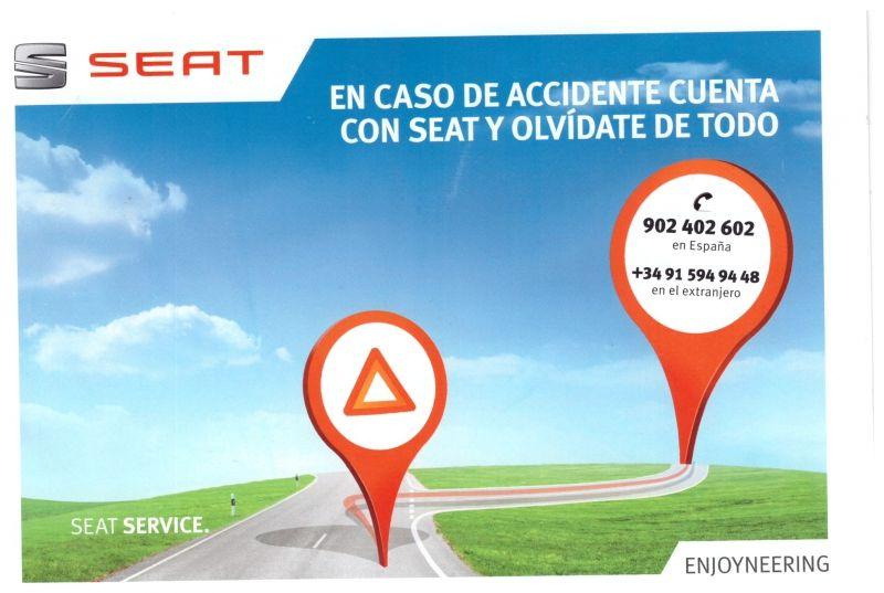 En caso de accidente cuenta con SEAT y olvídate de todo