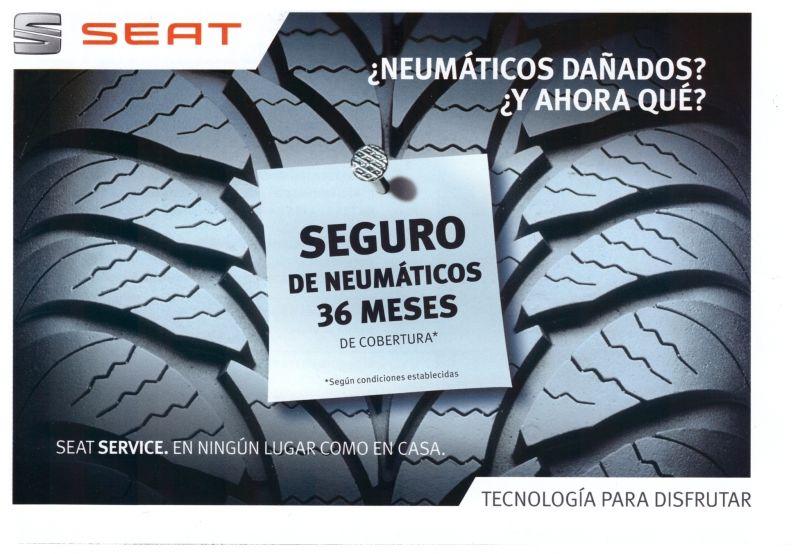 Seguro de Neumáticos 36 Meses