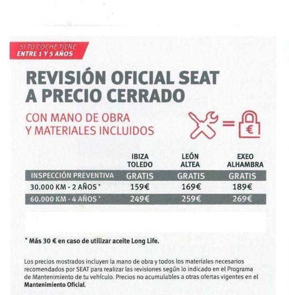 REVISION OFICIAL A PRECIO CERRADO