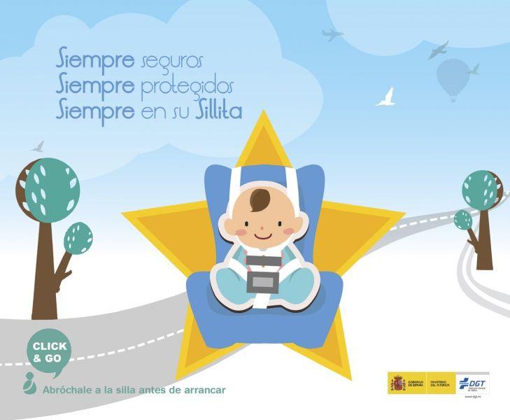La DGT intensifica los controles sobre uso del cinturón de seguridad y de los sistemas de retención infantil.